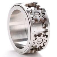 Wedding ring for Technology loving men