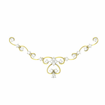 gold necklace designs with price and weight in india