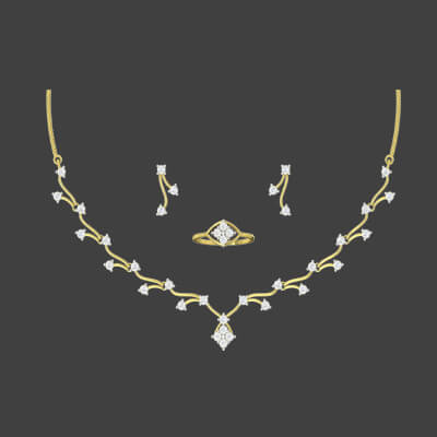 gold necklace within 10 gms