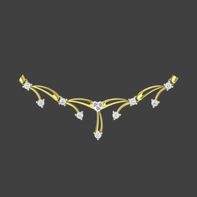 diamond necklace set designs