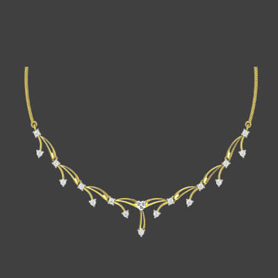 modern simple necklace designs