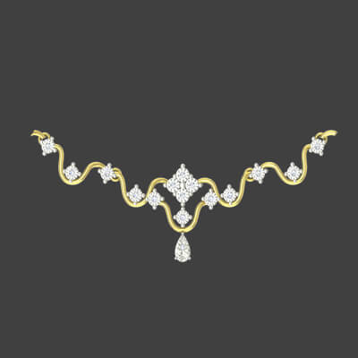 necklace design in gold for bridal