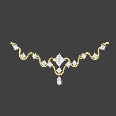 necklace design in gold for bridal