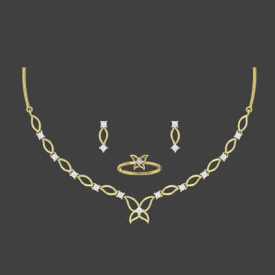 diamond necklace for indian bride