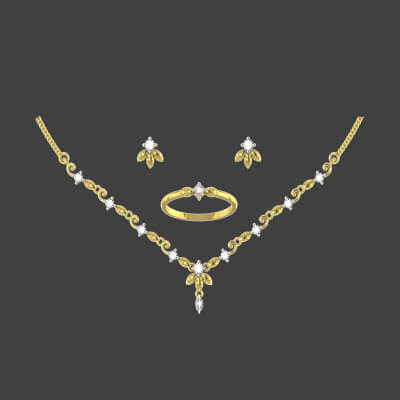 bridal diamond necklace with price