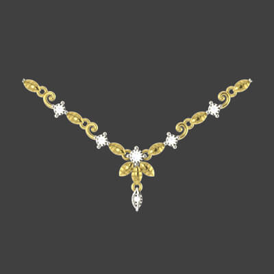 bridal gold necklace sets with price