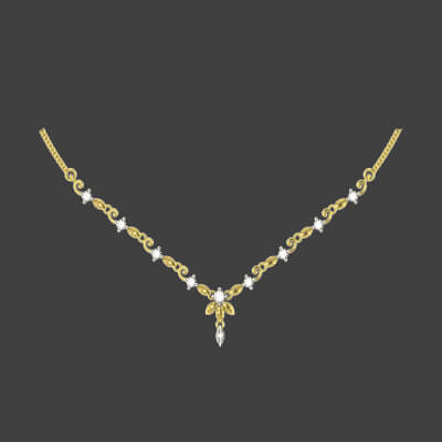 bridal diamond necklace designs