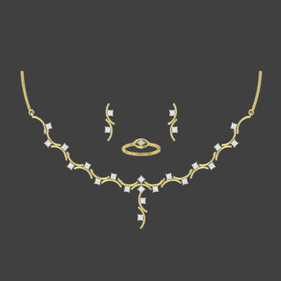 traditional bridal gold necklace designs
