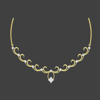 images of bridal gold necklace