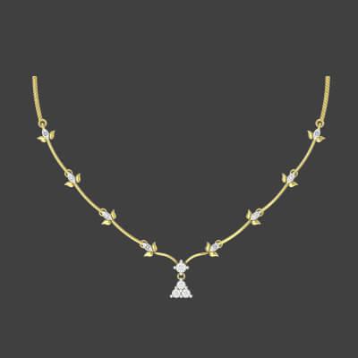 Express Necklace Set For Bride