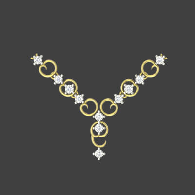 bridal gold necklaces designs