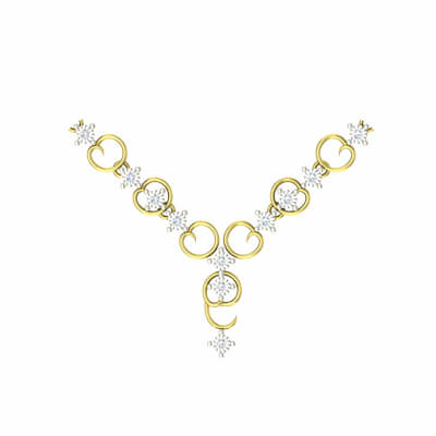 designer diamond bridal necklaces