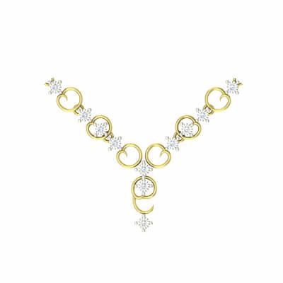 designer diamond bridal necklaces