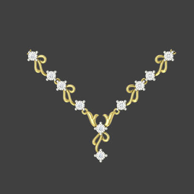 jewelry design necklace of gold