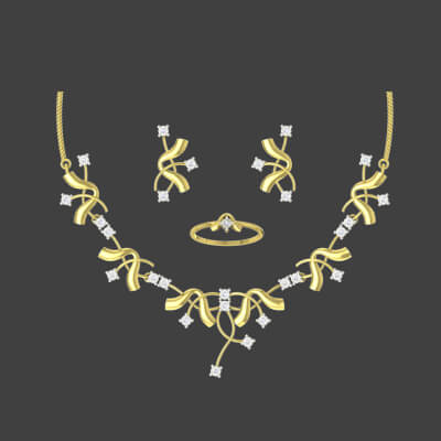 bridal necklace sets with price