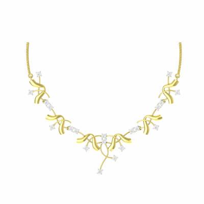 new necklace designs in diamond