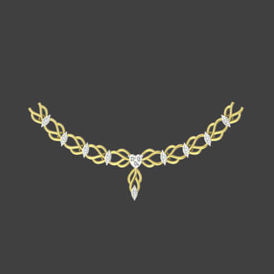 diamond necklace price malabar gold