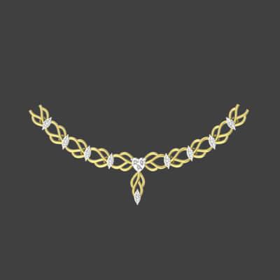 diamond necklace price malabar gold