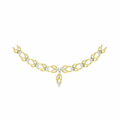 diamond gold necklaces women