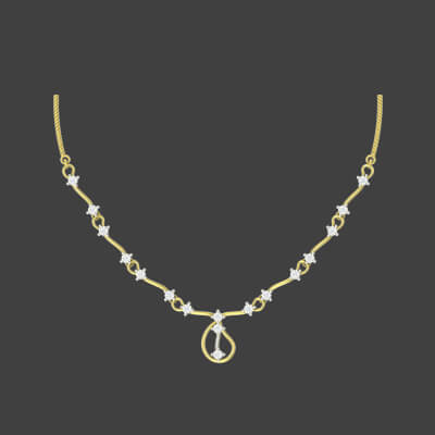 golden chain design for girl