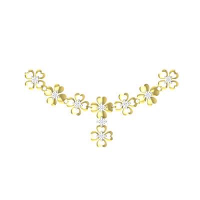diamond necklace latest designs