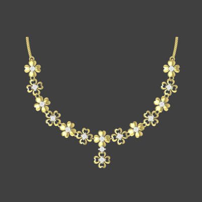 wedding diamond necklace designs