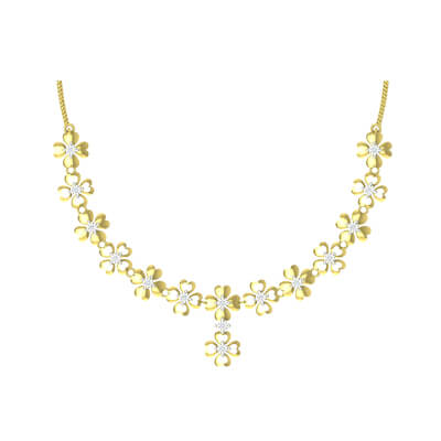 latest designer diamond necklace