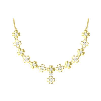 latest designer diamond necklace