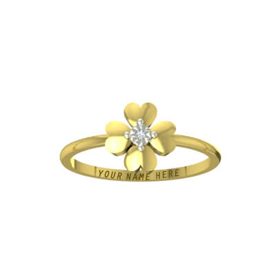 ring design for female in gold