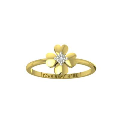 ring design for female in gold