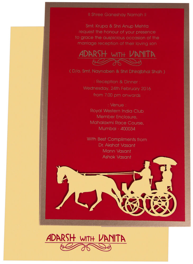 Indian wedding store- wedding invitation