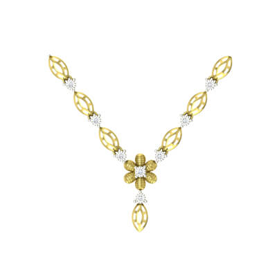 diamond necklace set designs with price