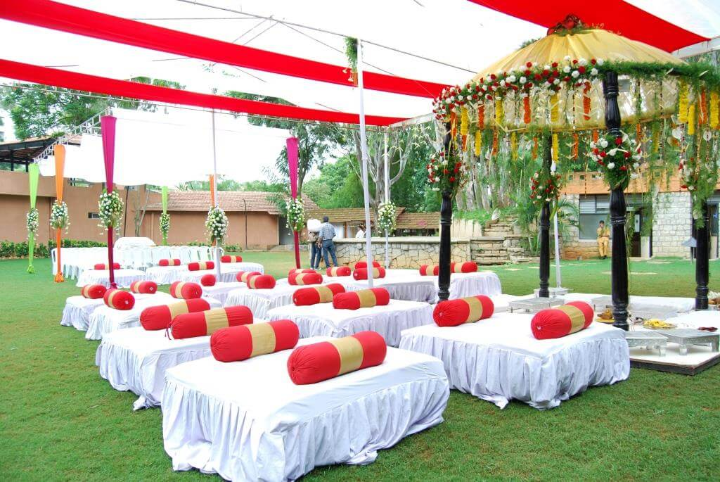 Manipal County Bangalore marriage event hall