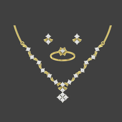 gold necklace designs in kolkata
