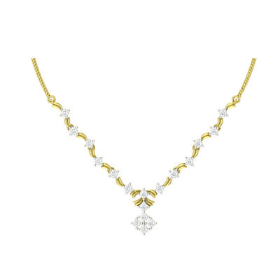 classic diamond necklace designs