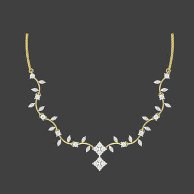 diamond necklace online