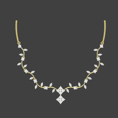 diamond necklace online