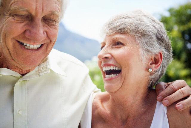 Senior Couple --- Image by © Brooke Fasani Auchincloss/Corbis