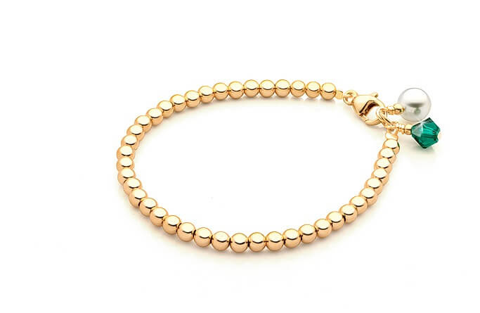 Plain gold bracelet for husband online india