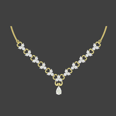 indian designer diamond necklaces