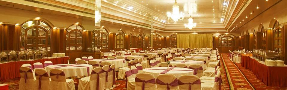 The Capitol Hotel bangalore hall for wedding