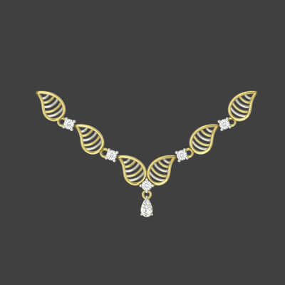 gold necklace sets with weight and price