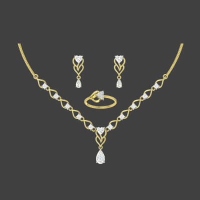 necklace designs for bride in gold