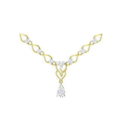 gold eastern necklace bridal ladies set jewellery