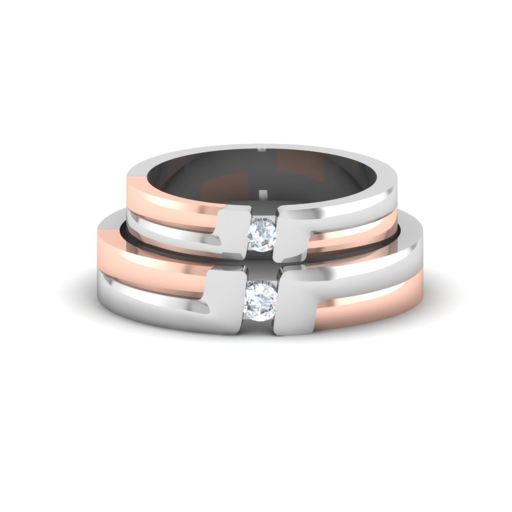 Buy Diamond Ring With Platinum Platinum Ring Price