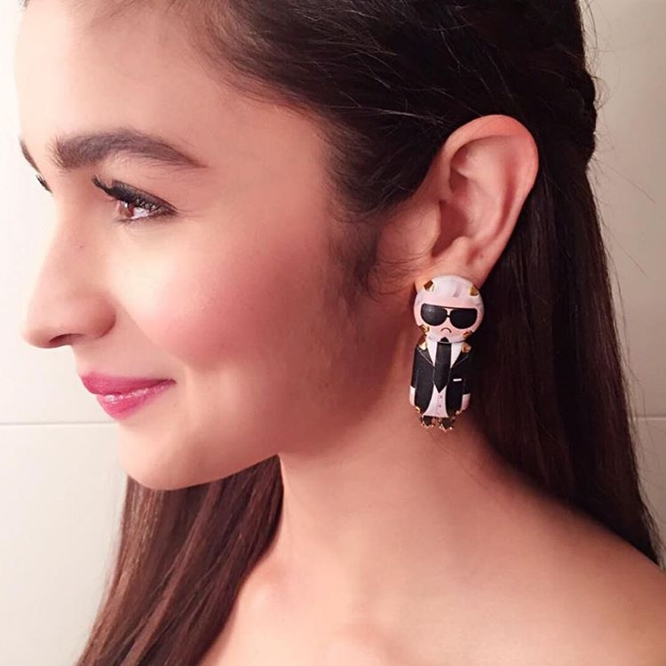 Alia Bhatt's Unique Earrings