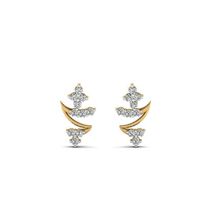 daily wear gold earrings with price