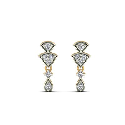 latest gold earrings design
