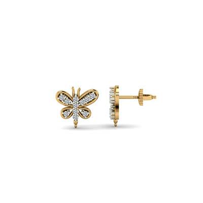 womens diamond stud earrings