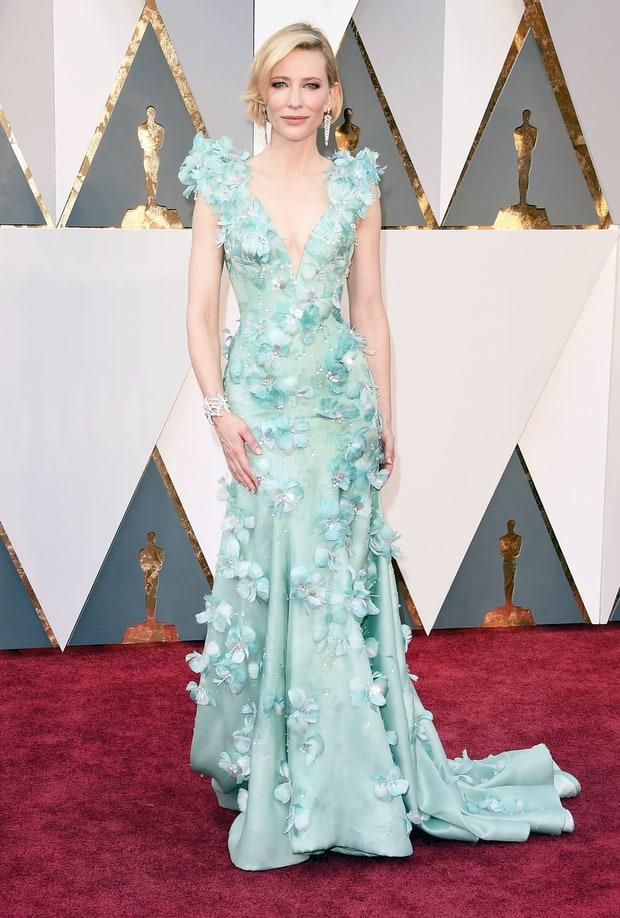 Cate Blanchett's Seafoam Gown